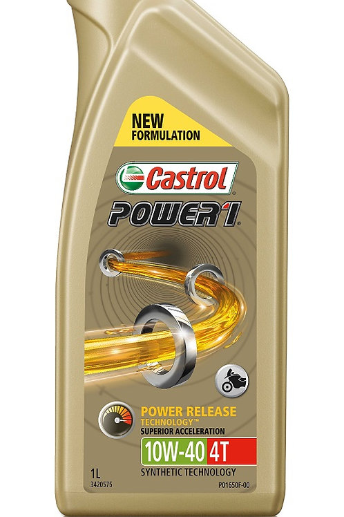 Castrol Power 1 4T 10W/40 Motorcycle Engine Oil