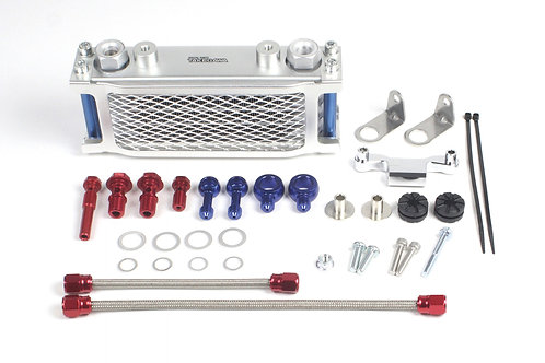 Takegawa 3 Fin Oil Cooler Kit for 4v MSX Only