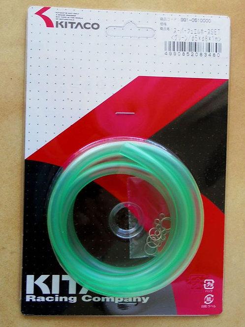 Kitaco Fuel Hose Set (GREEN)