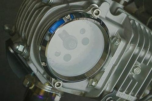 OTB V3 Chrome Clear Cam Cover Honda MSX / 125 Monkey / Grom 2021+