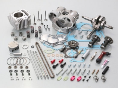 Kitaco Type 3 DOHC 124cc Big Bore Kit Z50/CRF50 12v