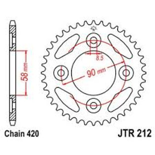 JT 420 Rear Sprocket MSX / 125 Monkey