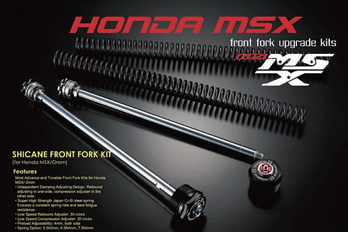 RacingBros Adjustable Front Fork Kit MSX 2013-2020 / 125 Monkey / Grom 2021+