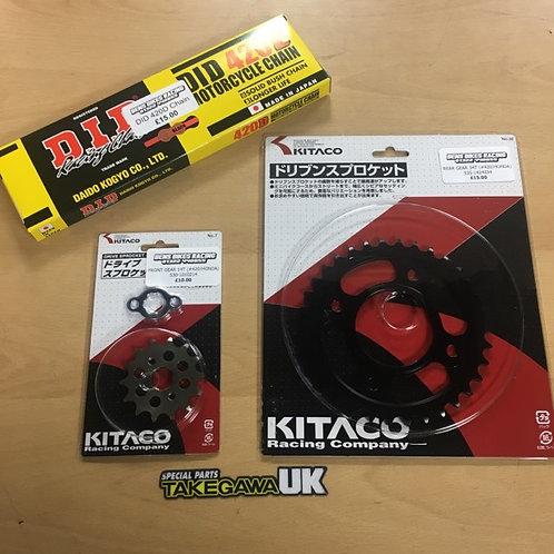 420 Chain & Sprocket Kit MSX / 125 Monkey