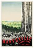 Marysville Narbethong Buxton Vintage Pos