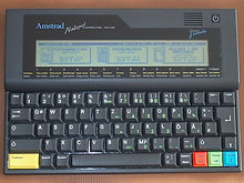 Amstrad NC-100 Portable Computer