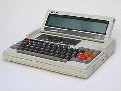 Epson PX-8 Portable CP/M Computer
