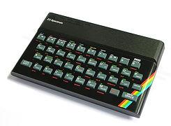 Sinclair ZX Spectrum Home Computer
