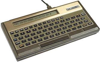 HP-75 Handheld Computer