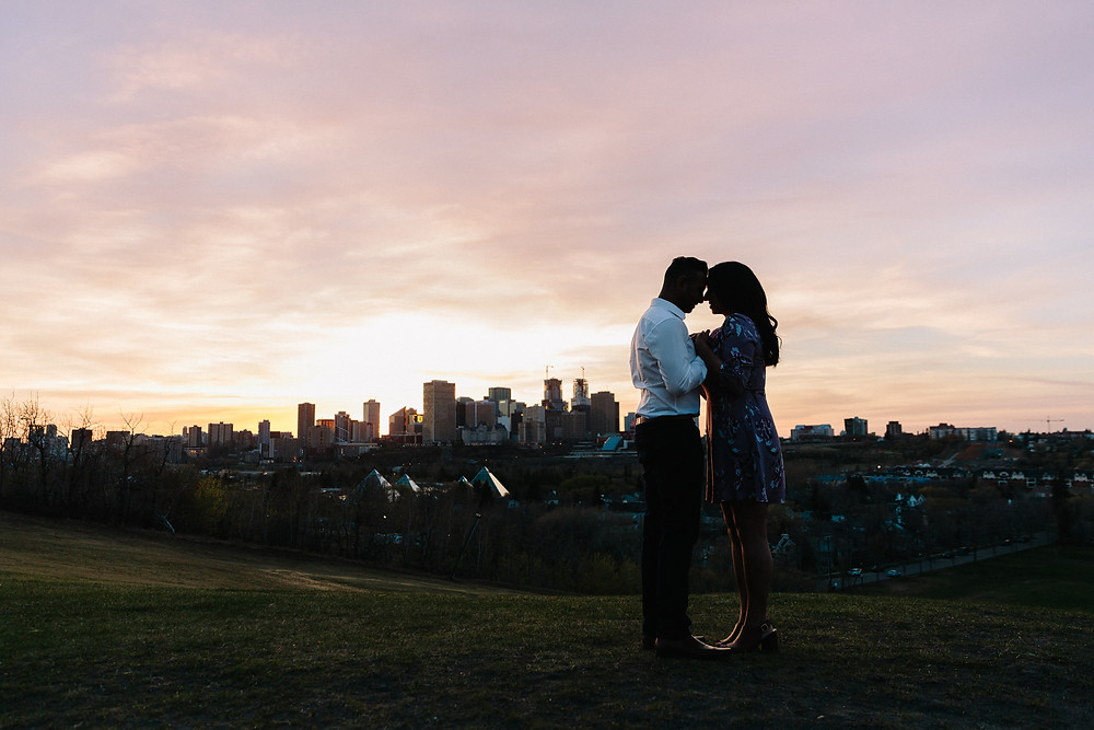 Epic engagement photos edmonton