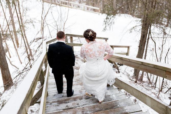 Winter Wonderland Wedding | Madison & David