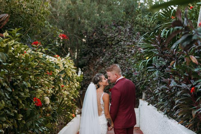 Beach Wedding In Cancun Mexico - Alberta Destination Wedding Photographers