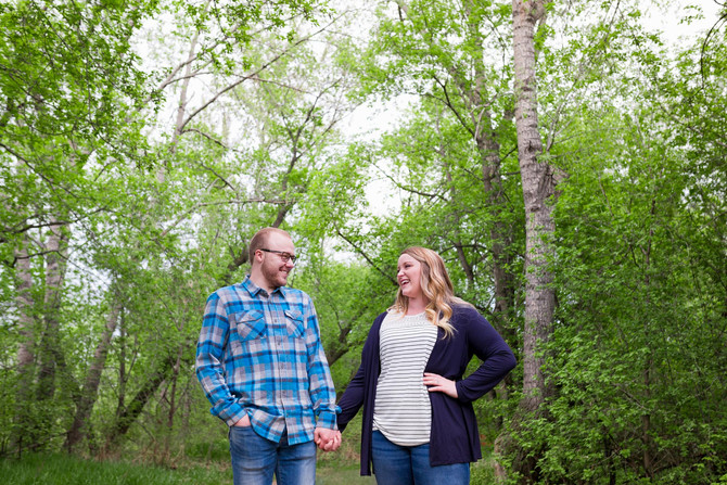 Spring Engagement Session | Kayla & Nathan