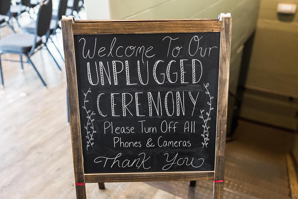 Un Plugged Ceremony