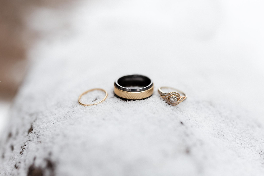Wedding Rings Winter
