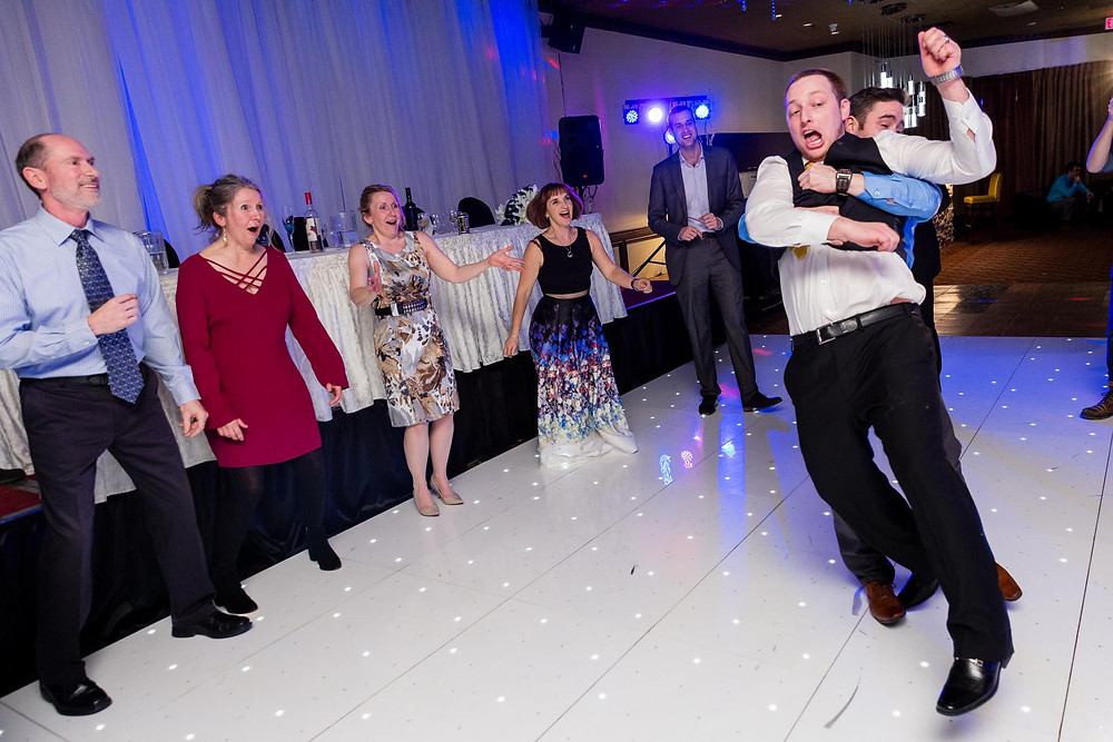 Wedding Reception Dancing