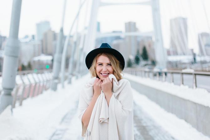 Portraits at Walterdale Bridge (The New One!) - Edmonton Photographer
