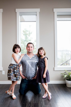 Father and Daughters Edmonton