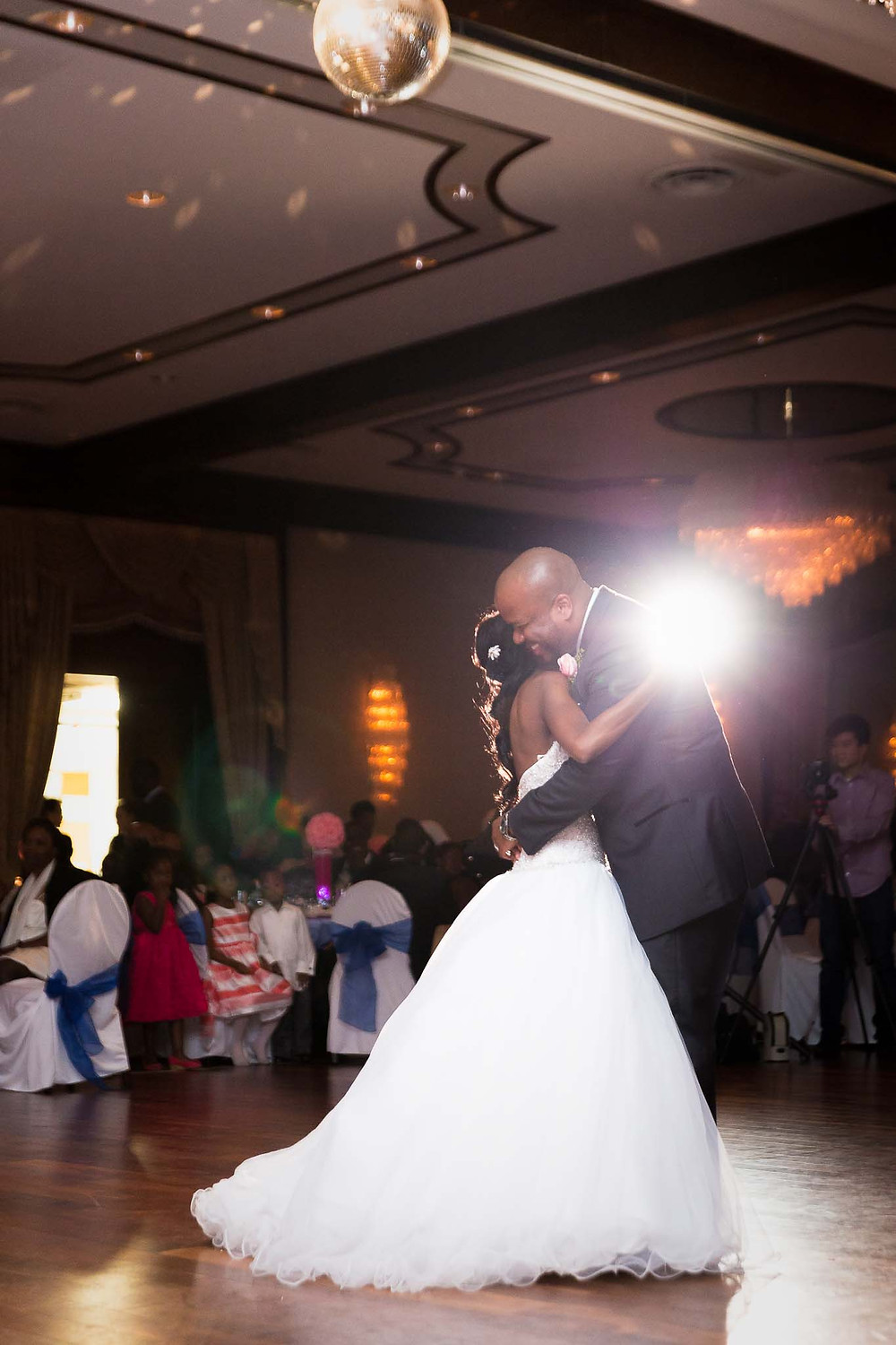 Backlit Wedding Photos