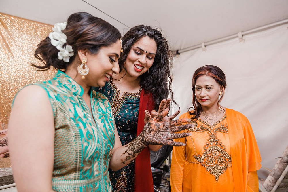 Pre-wedding sikh events