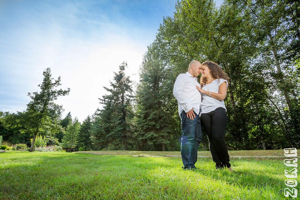 Tarik and Nadia - Engagement Photography, Engagement Photography Edmonton, Edmonton Photographers, Devonian Garden Photography