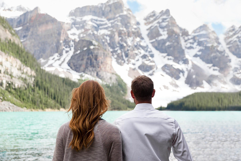 Moraine Lake Engagement Pictures