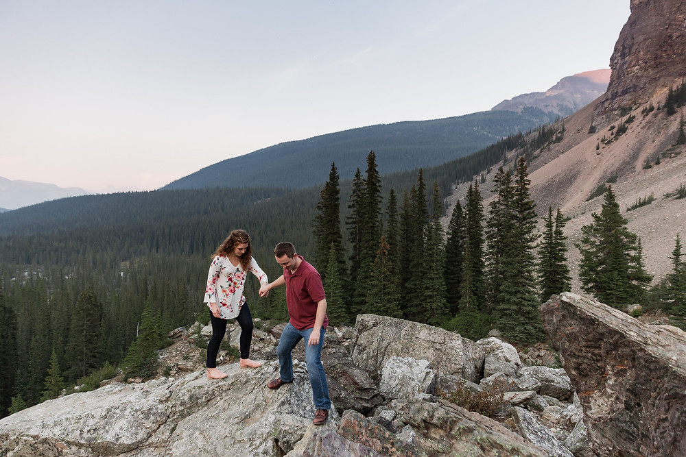 Couples Photos in Banff