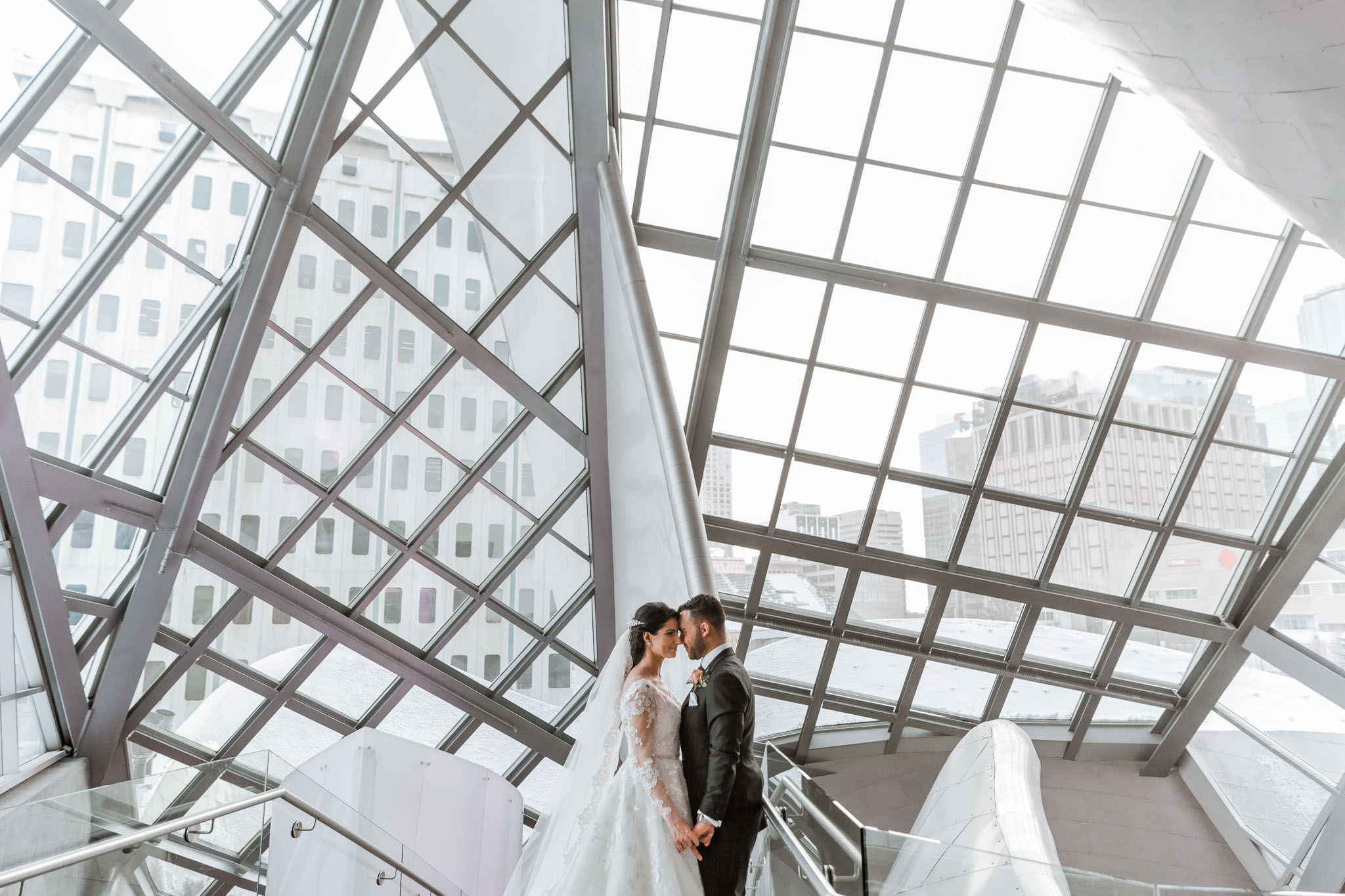 Art Gallery Wedding Photos
