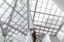 Art Gallery Wedding Photos