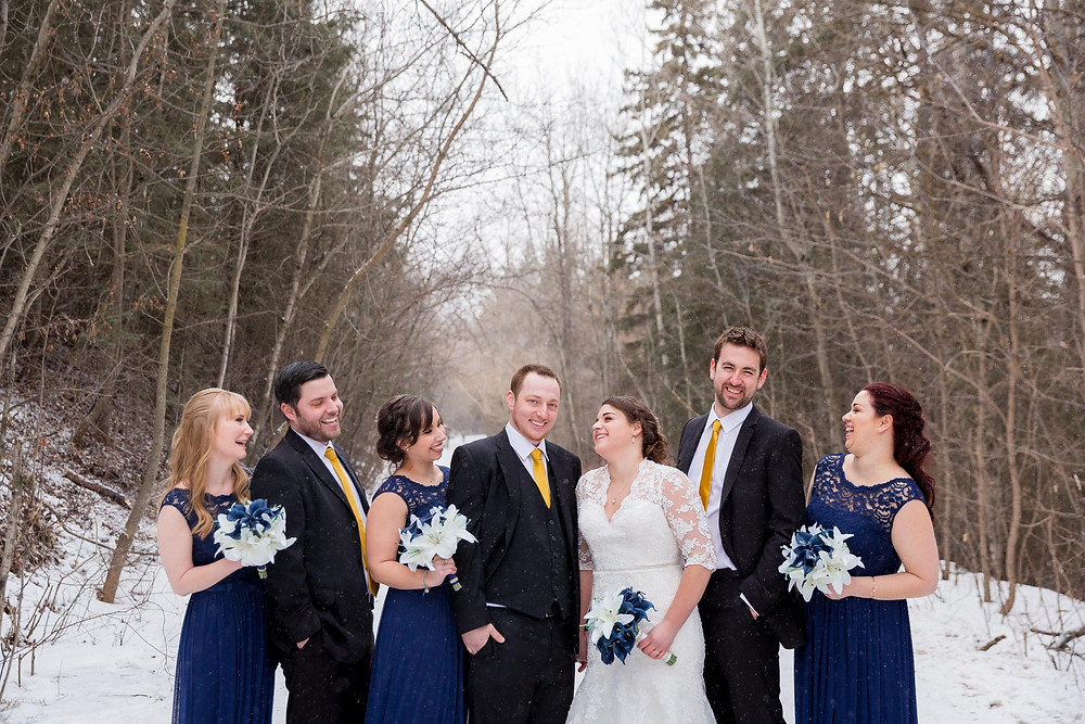Edmonton Wedding In Winter