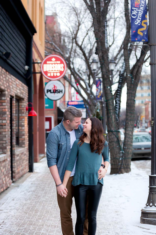 Cute Edmonton Couple