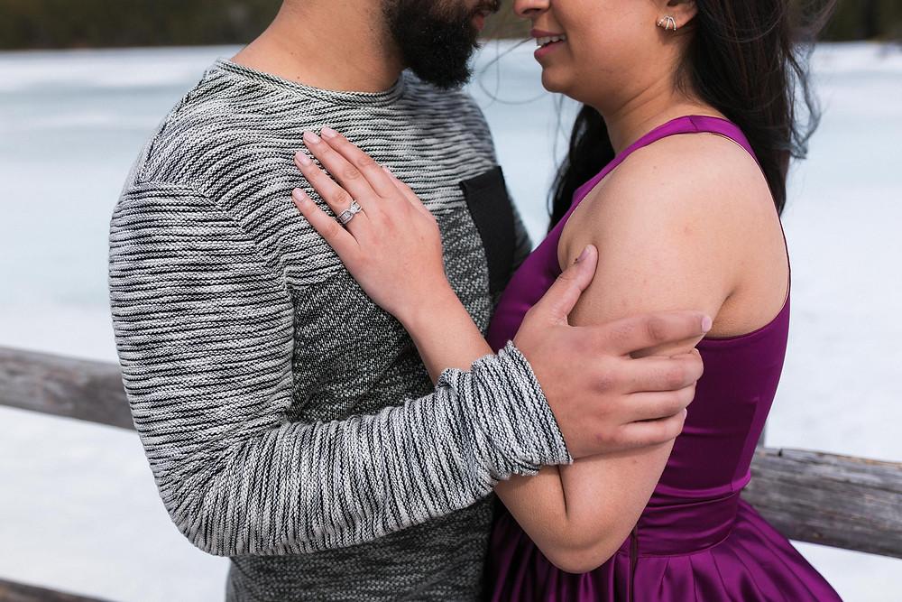 Engagement In Jasper Park