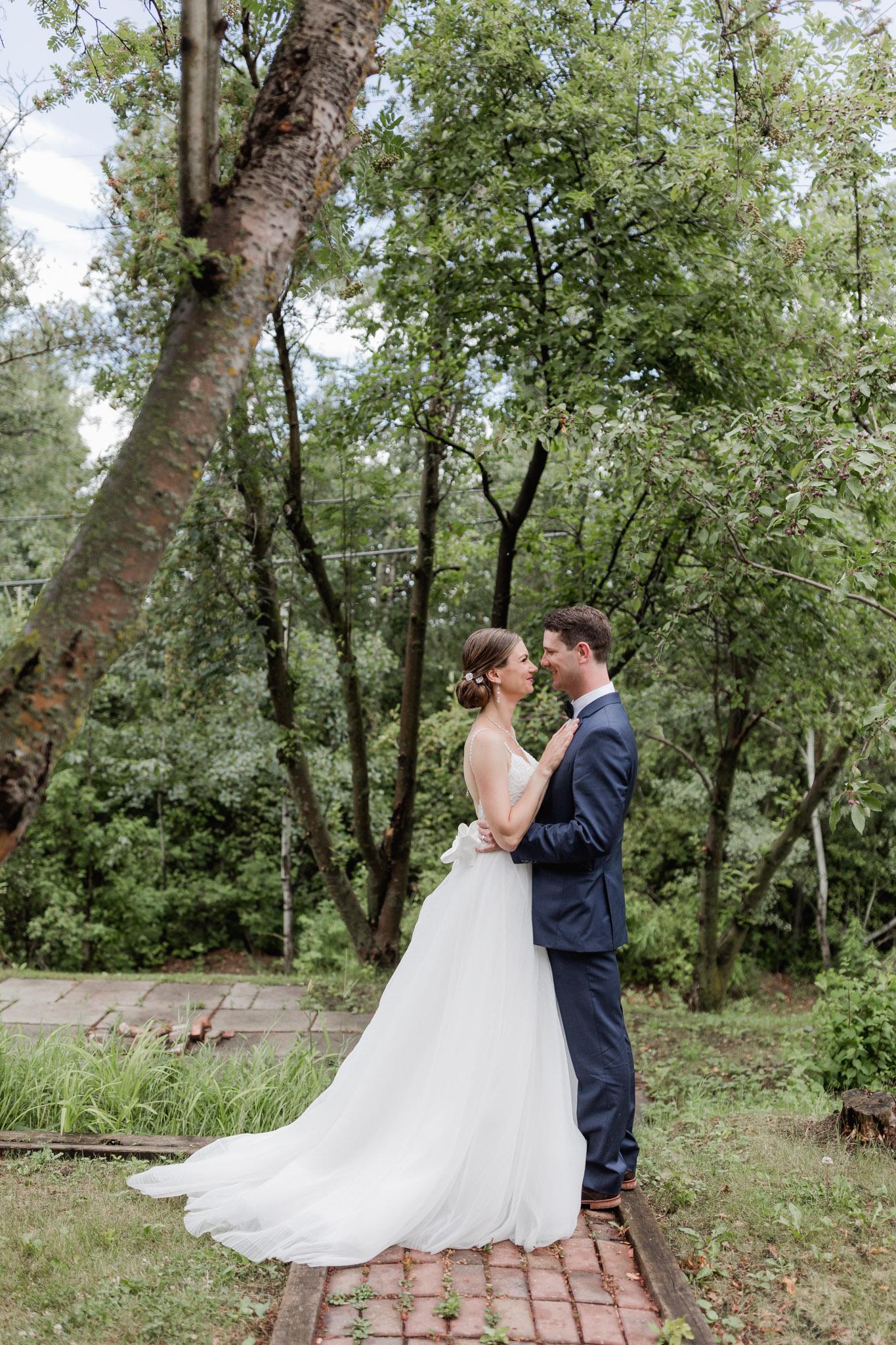 Intimate wedding photographers