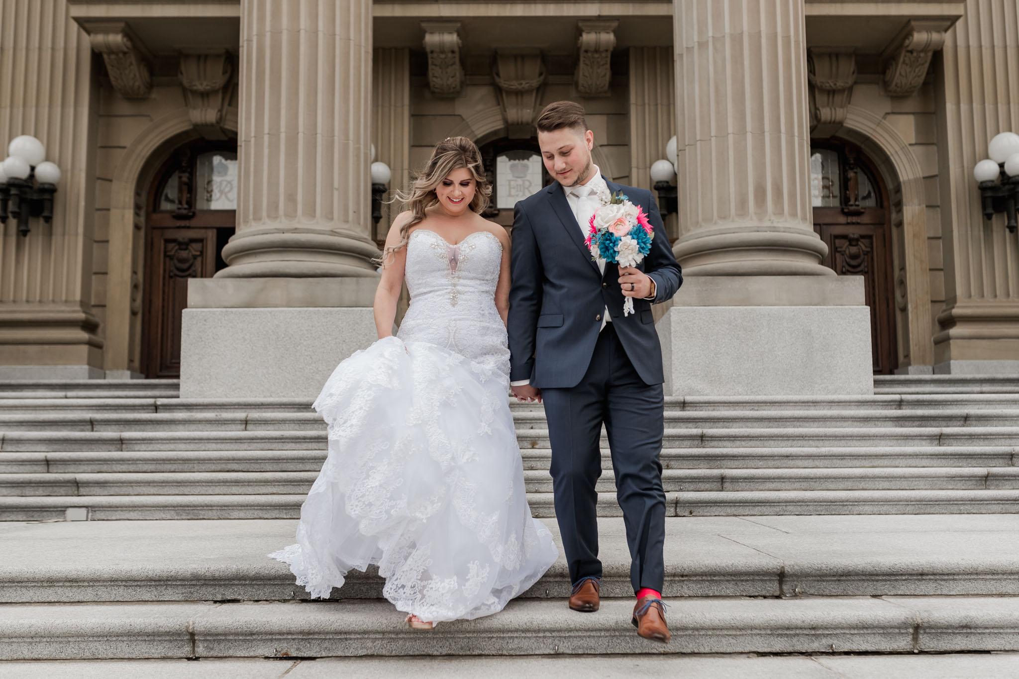 Wedding Photos At the Legislature