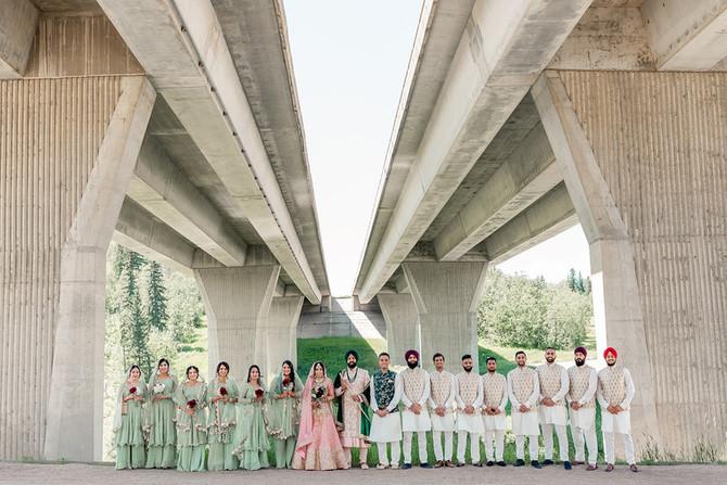 Nanaksar Gurdwara & Maharaja Banquet Hall - Sikh Wedding In Edmonton