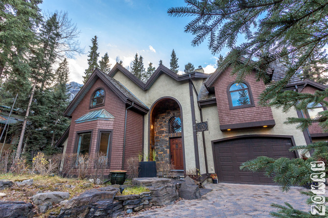 Luxury Home Photography In Canmore, Alberta