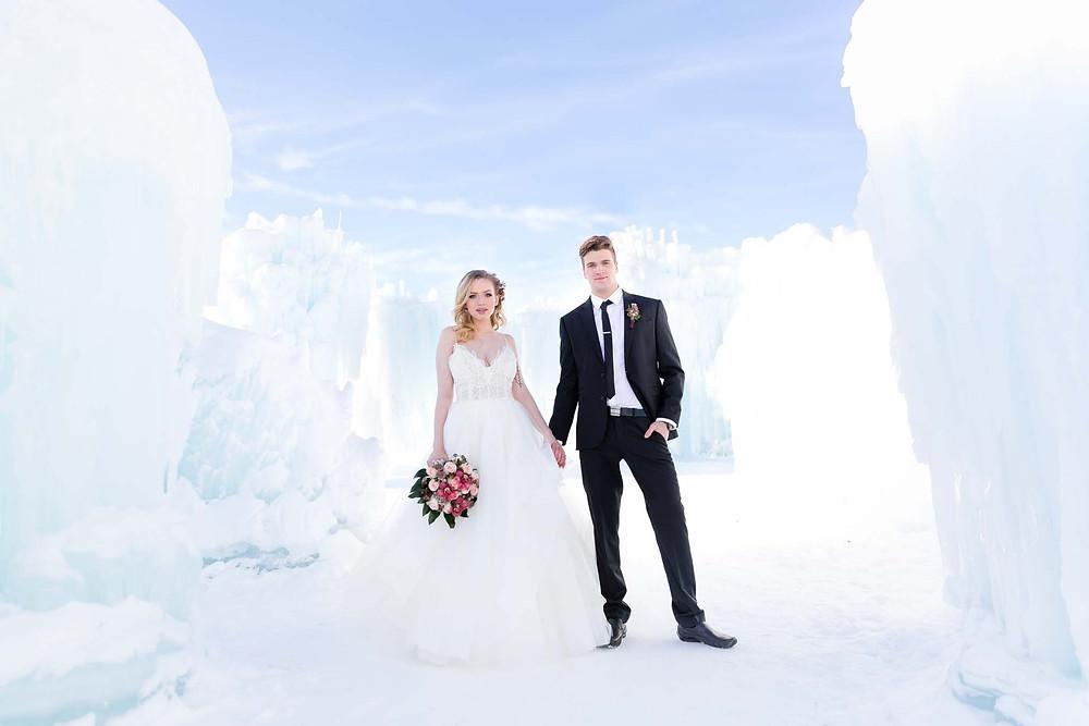 Ice Castles Edmonton Photos