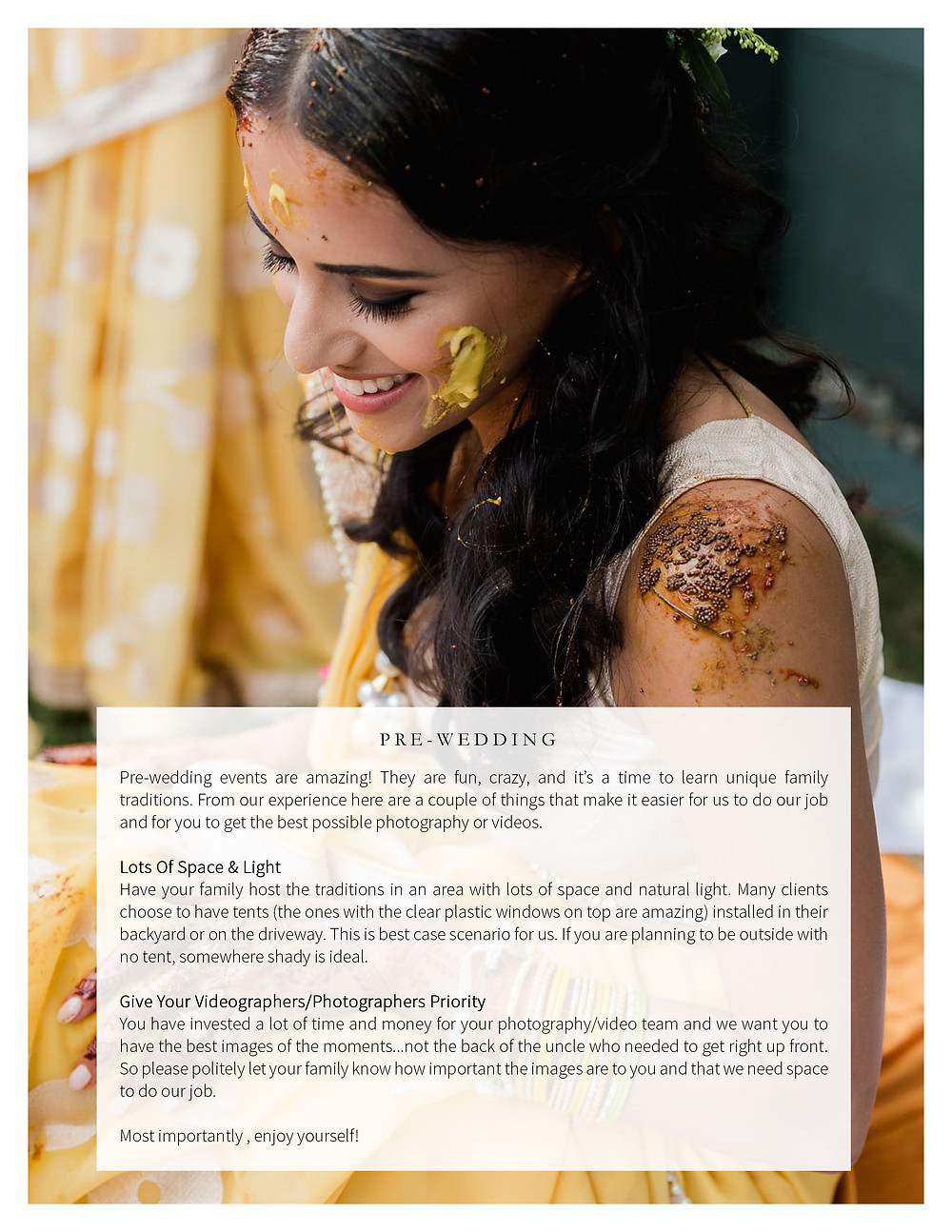 Indian Wedding Videographer