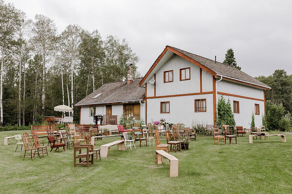 Country Wedding Ceremony, Grand Prairie Wedding, Grand Prairie Farm Wedding