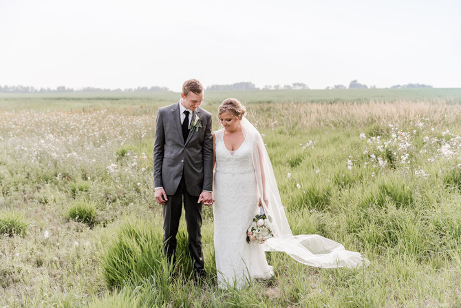 Laura and Jannick - Central Alberta Wedding Photography