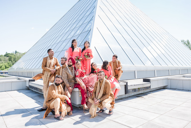 A Sikh Wedding (and Reception) - Naveenu - Edmonton Photographer - Zokah