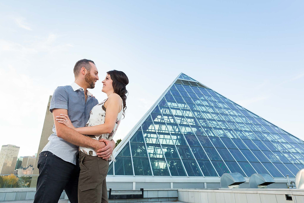 Epic Edmonton Engagement Photos