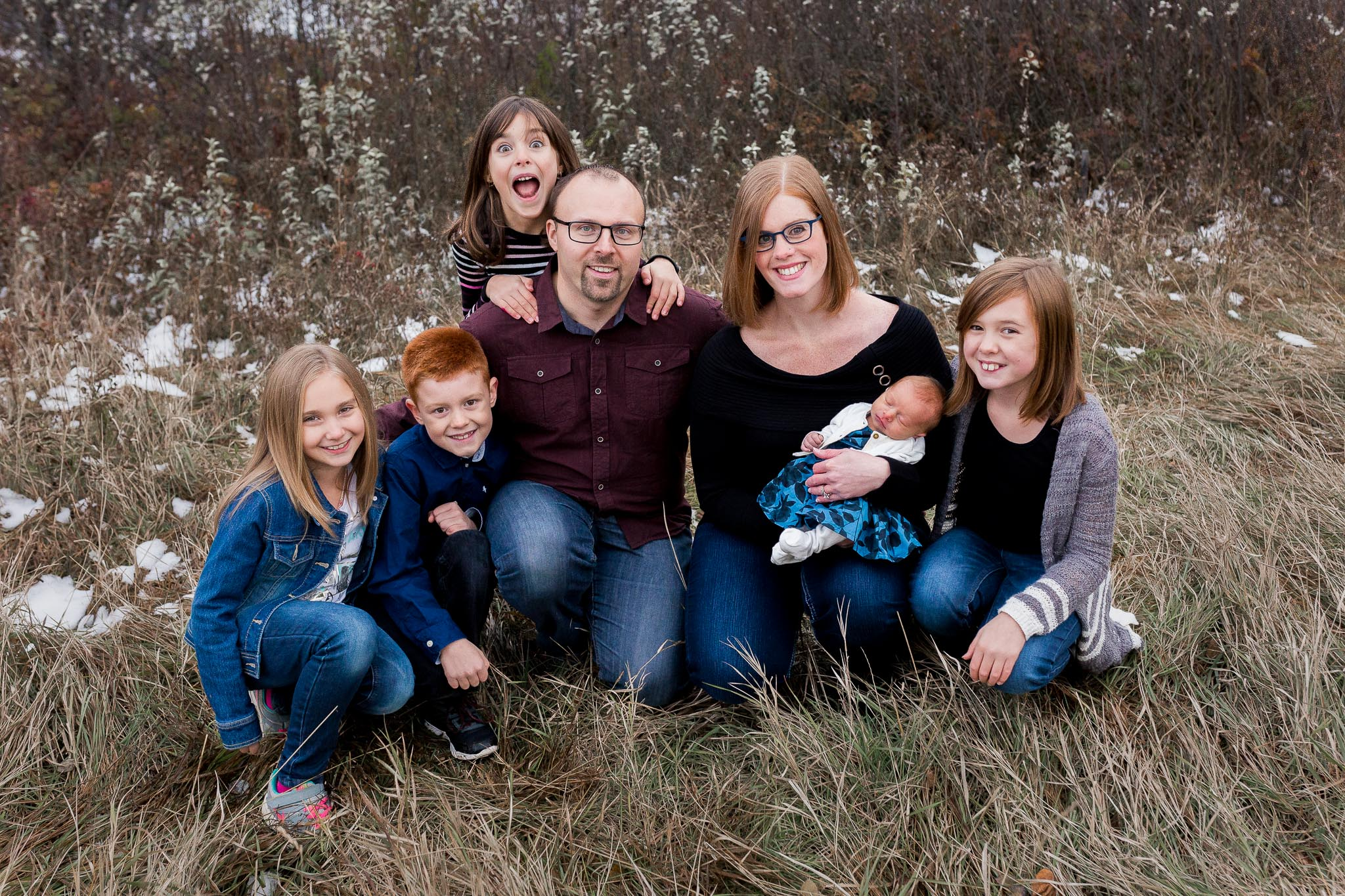 7 Person family photos Edmonton