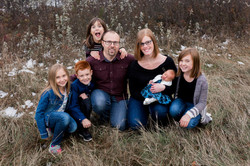 7 Person family photos Edmonton