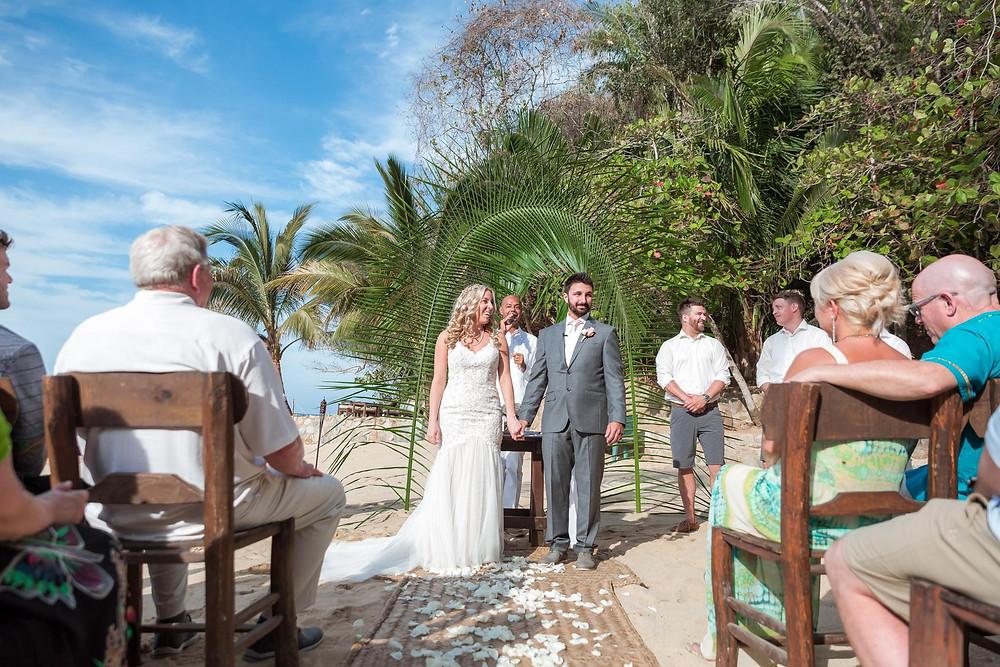 Las Caletas Palm Ceremony