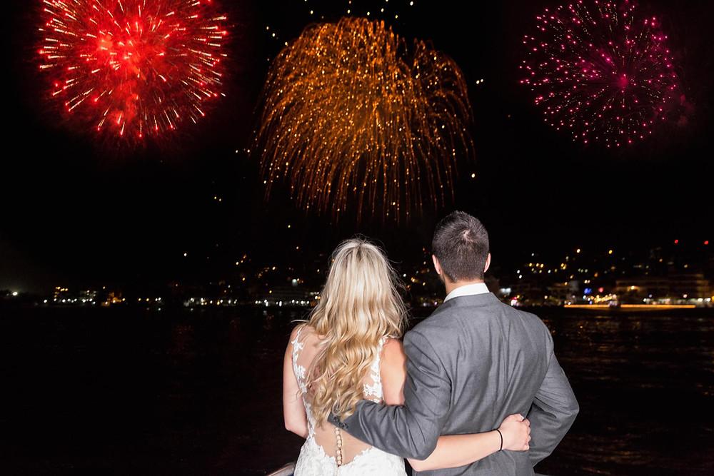 Wedding Day Fireworks