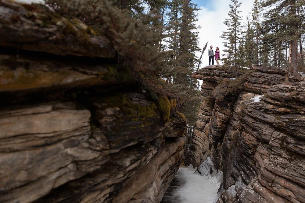 Athabasca Falls Wedding Photos