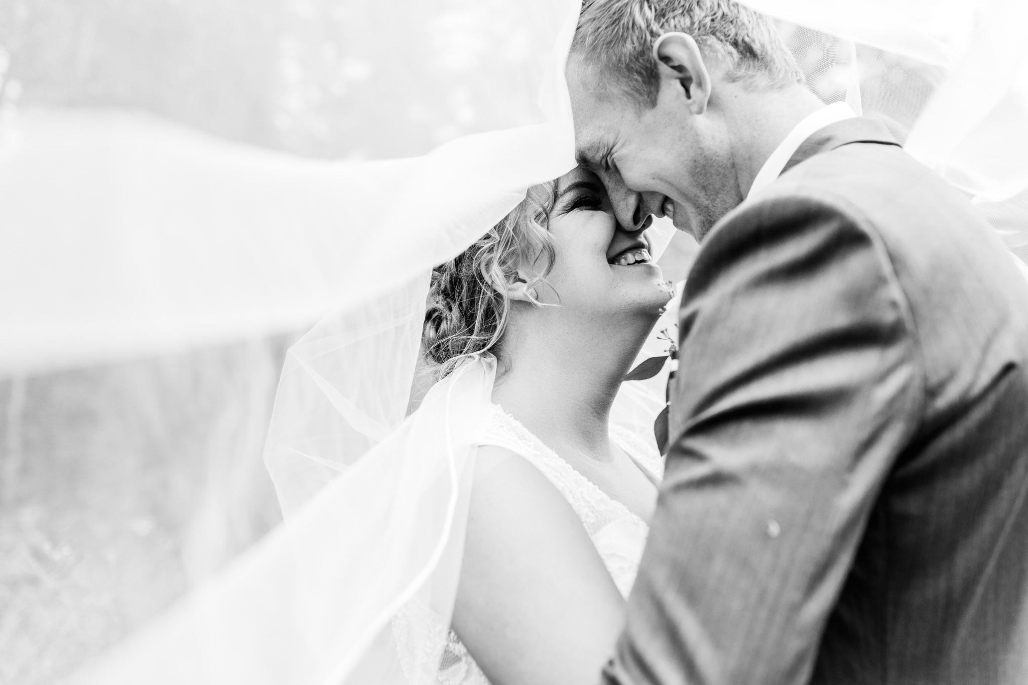 Black and White Classic Wedding Imag