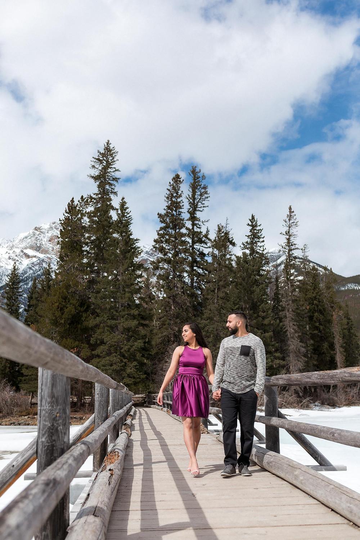 Enjoying Winter In Jasper
