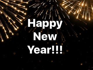 Friday, 1 January 2021 - New Year's Day